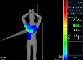 Toshiba's Dose Tracking System for the Infinix™ product line, which helps clinicians track and measure peak skin dose and provides safer cardiovascular X-ray exams for patients, was given the Innovative Technology Designation at the Novation Innovative Technology Expo.