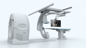Toshiba's Infinix 4D CT system helps clinicians improve visualization, workflow and increase patient safety during interventional procedures.