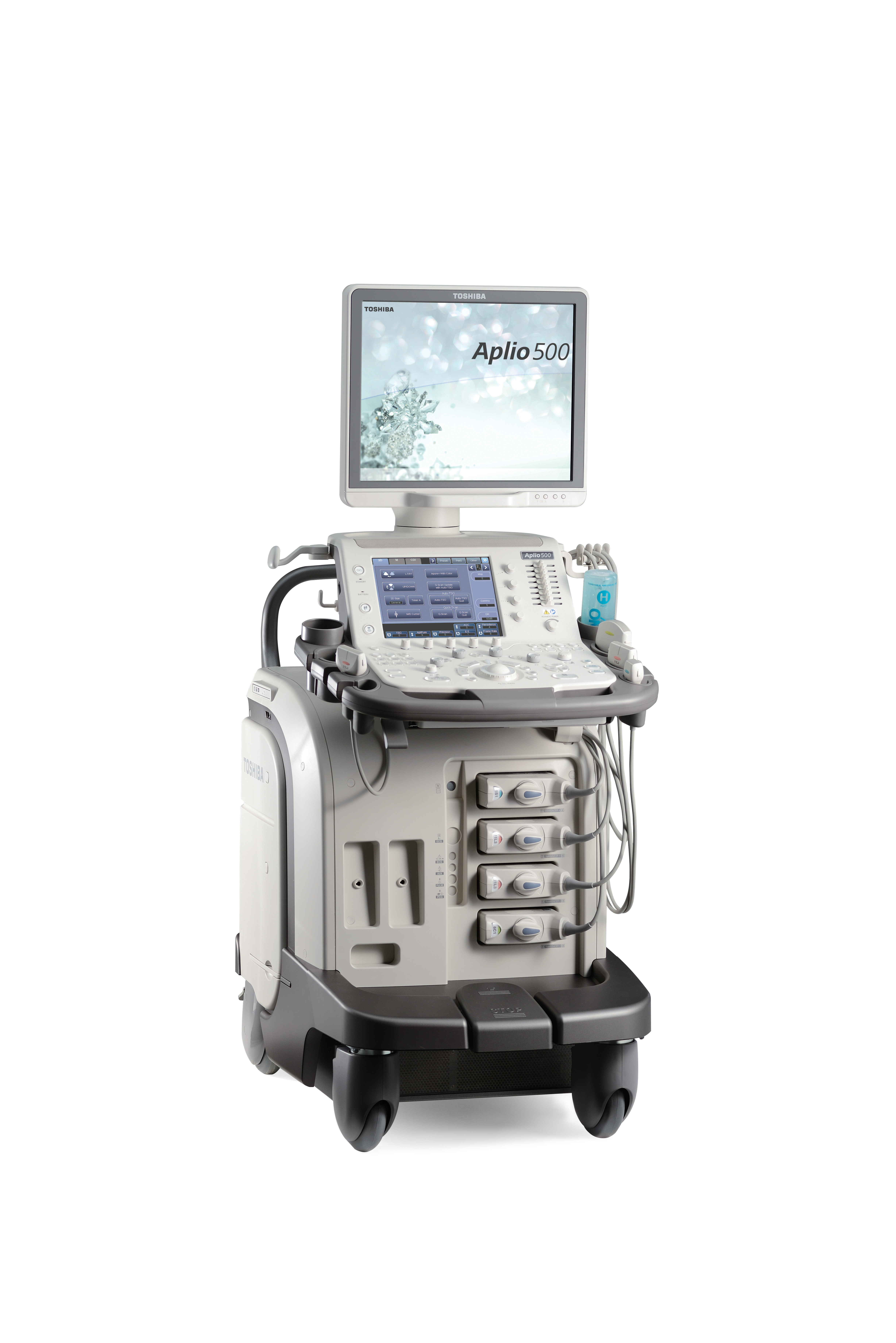 Toshiba's Aplio 500 Platinum system and its comprehensive contrast imaging package expand the clinical utility of ultrasound by delivering high quality images for increased diagnostic confidence.