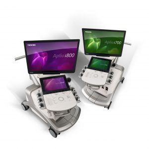 Toshiba Medical's Aplio i-series ultrasound platform expands the clinical utility of ultrasound with iPerformance technologies for extreme processing power and iBeam to increase penetration, spatial resolution and contrast resolution, while at the same time reducing artifacts and clutter.