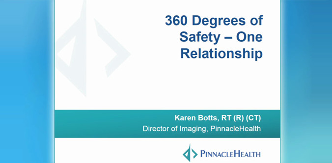 360 Degrees of Safety — One Relationship