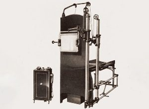 1932: The GIBA 75 X-ray device is introduced