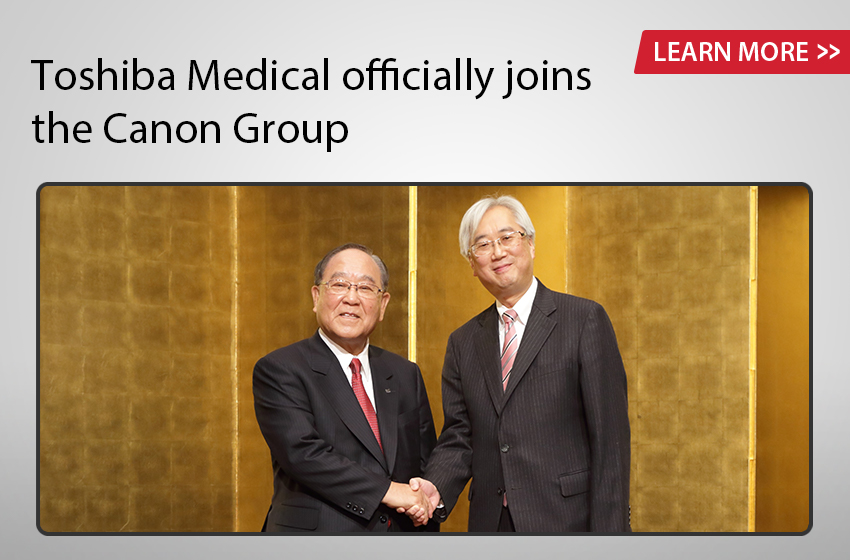Toshiba Medical officially joins the Canon Group