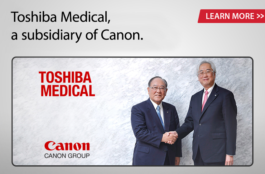 Canon is serious about its commitment to healthcare.