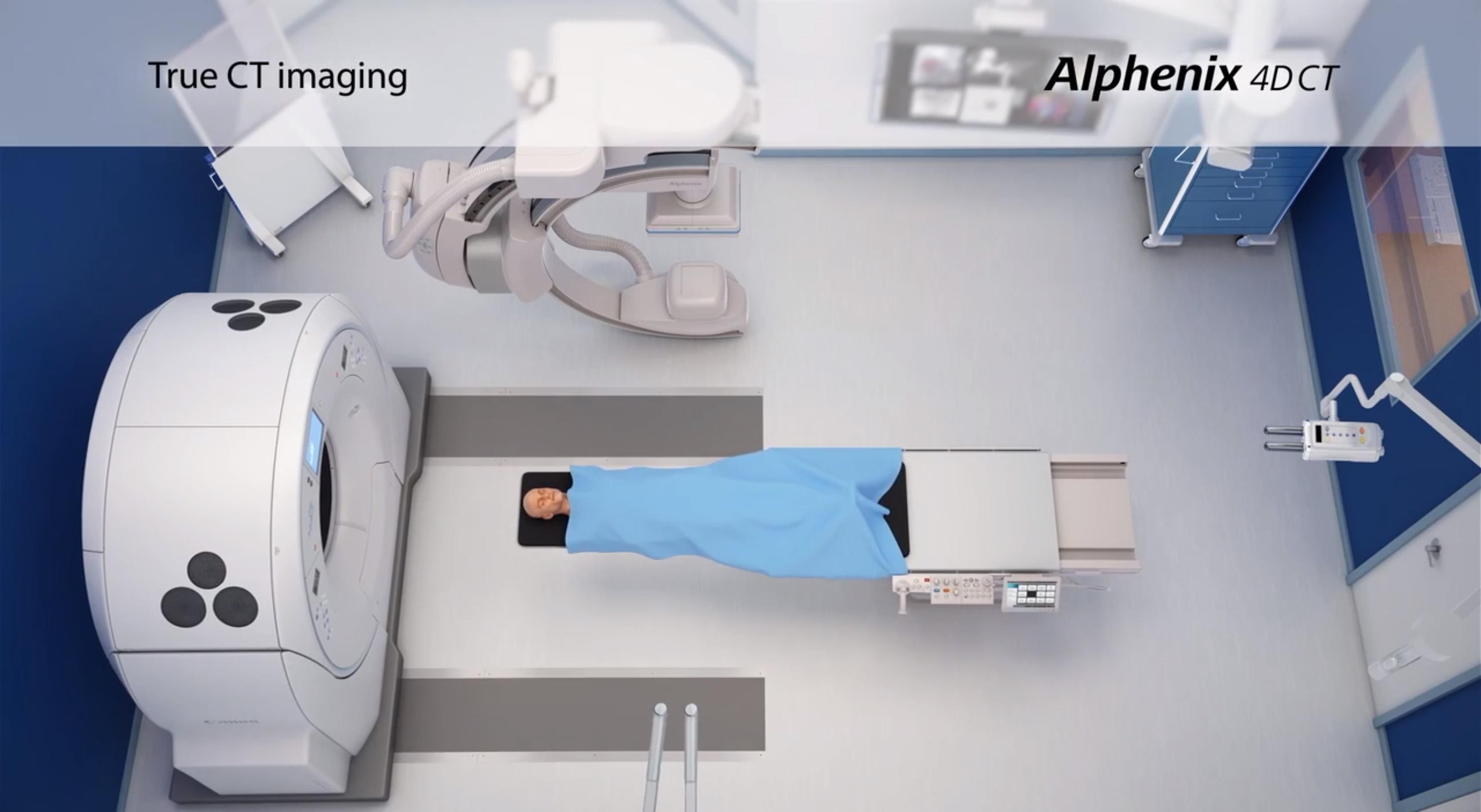 Alphenix 4D CT
