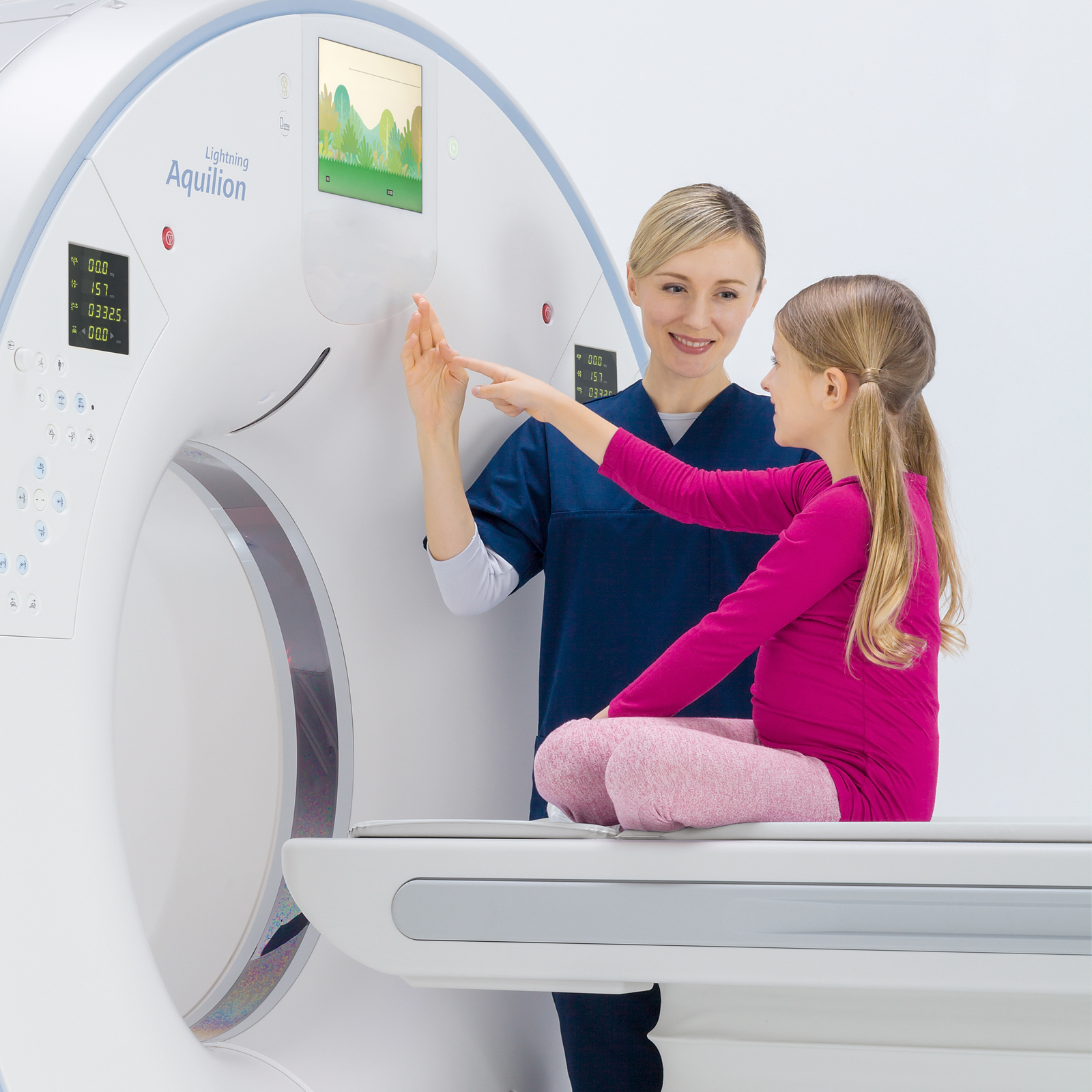 Toshiba Aquilion Lightning CT Scanner
