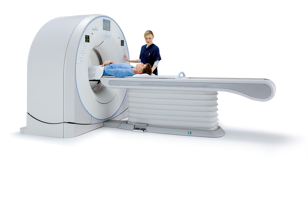 Aquilion Lightning 80 CT Scanner