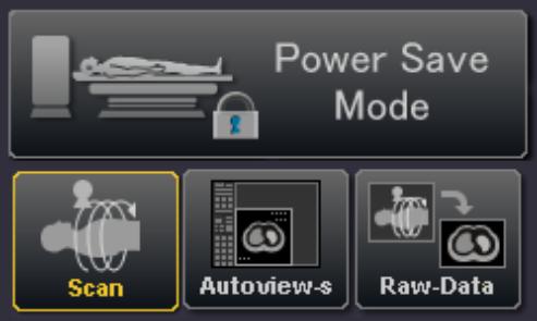 Aquilion Lightning Power Save Mode