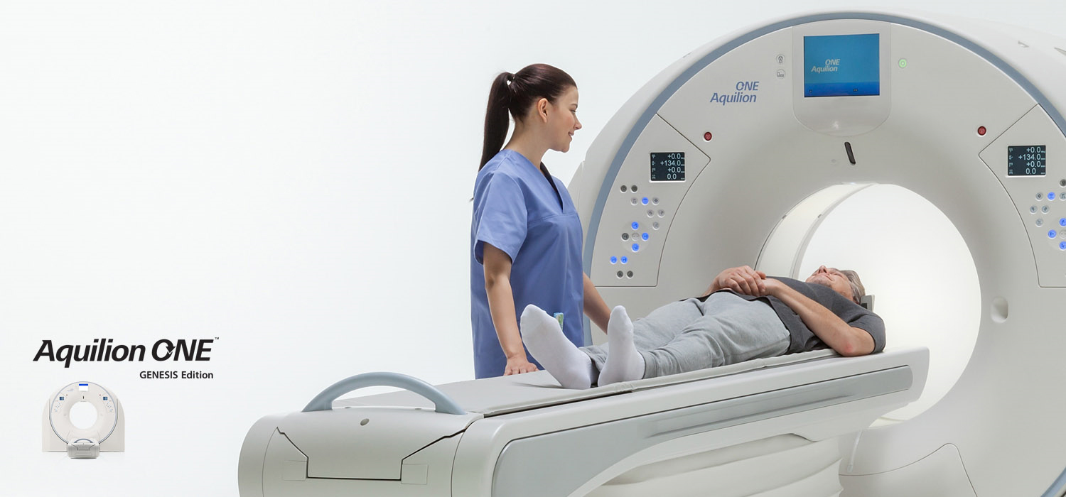Aquilion ONE GENESIS SP CT Scanner Technology