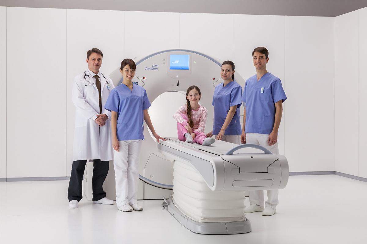 Aquilion ONE / GENESIS SP CT scanner