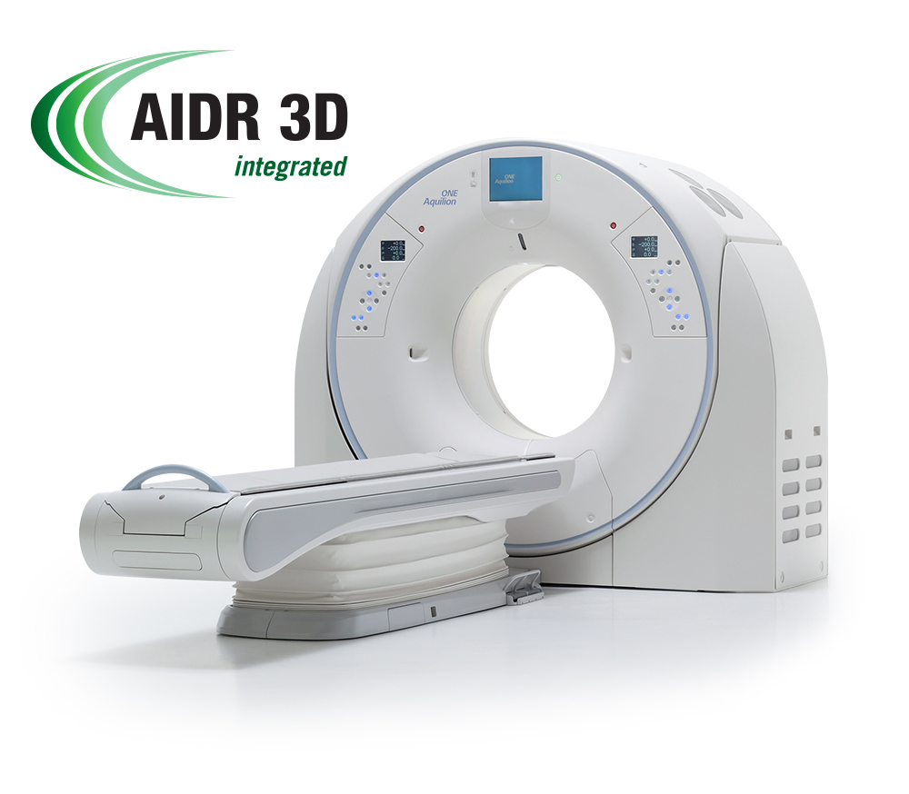 Aquilion ONE GENESIS AIDR 3D Integrated