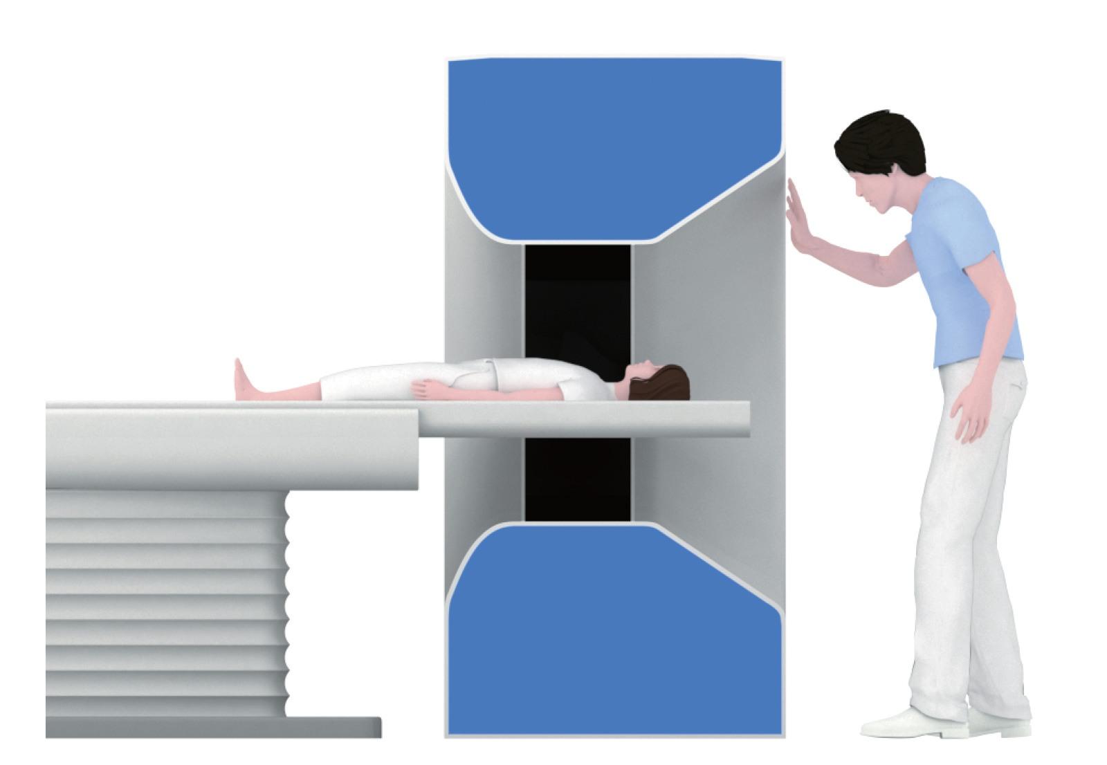Patient-friendly open flared design