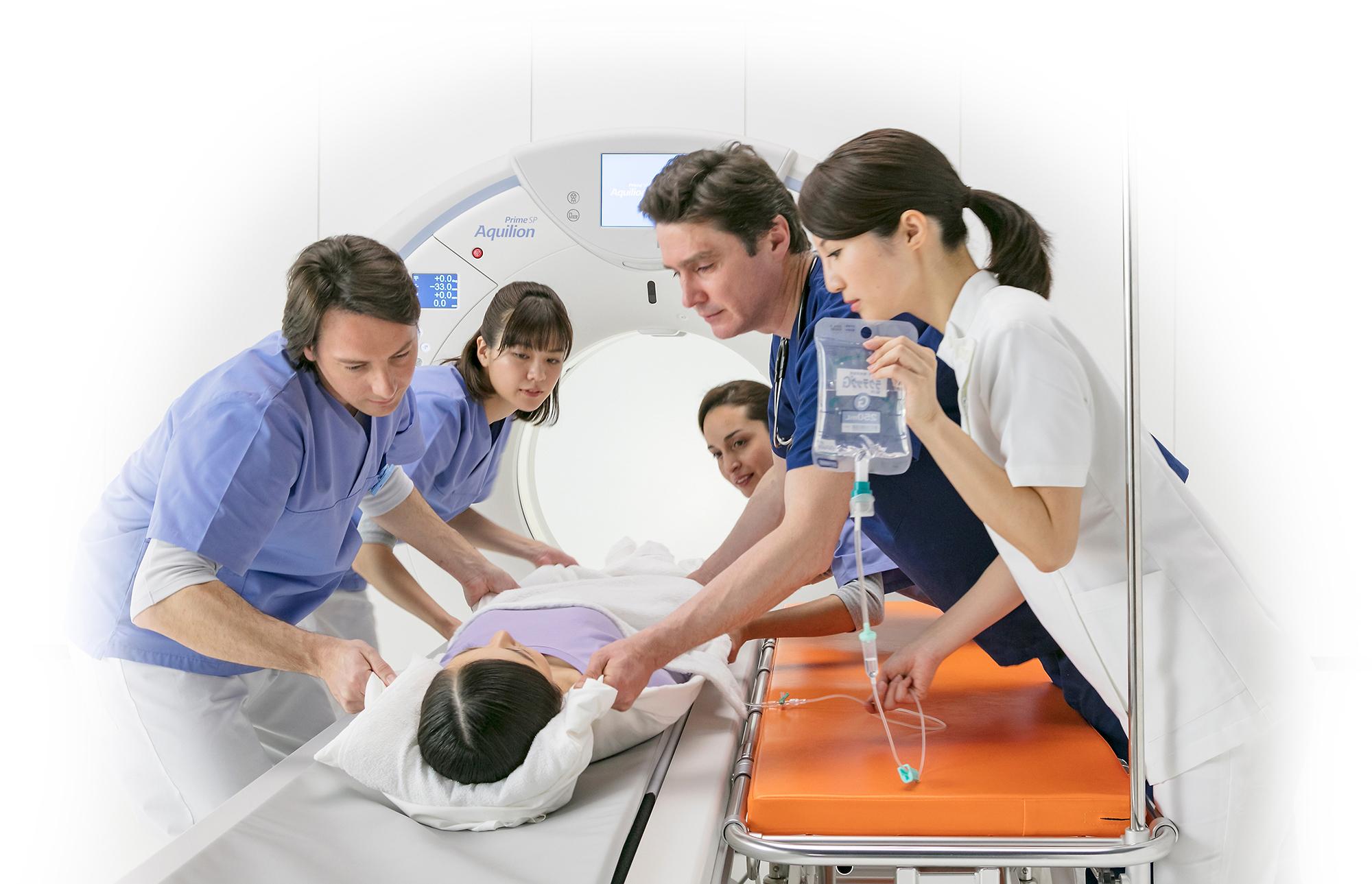 Tech Assist Lateral Slide – Help Technologists Position CT Patients