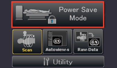 Aquilion ONE PRISM Power Save Mode