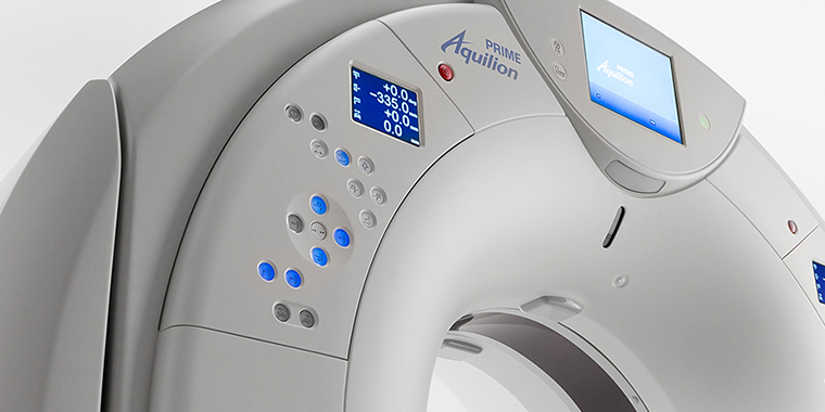Aquilion PRIME CT Scanner Technology