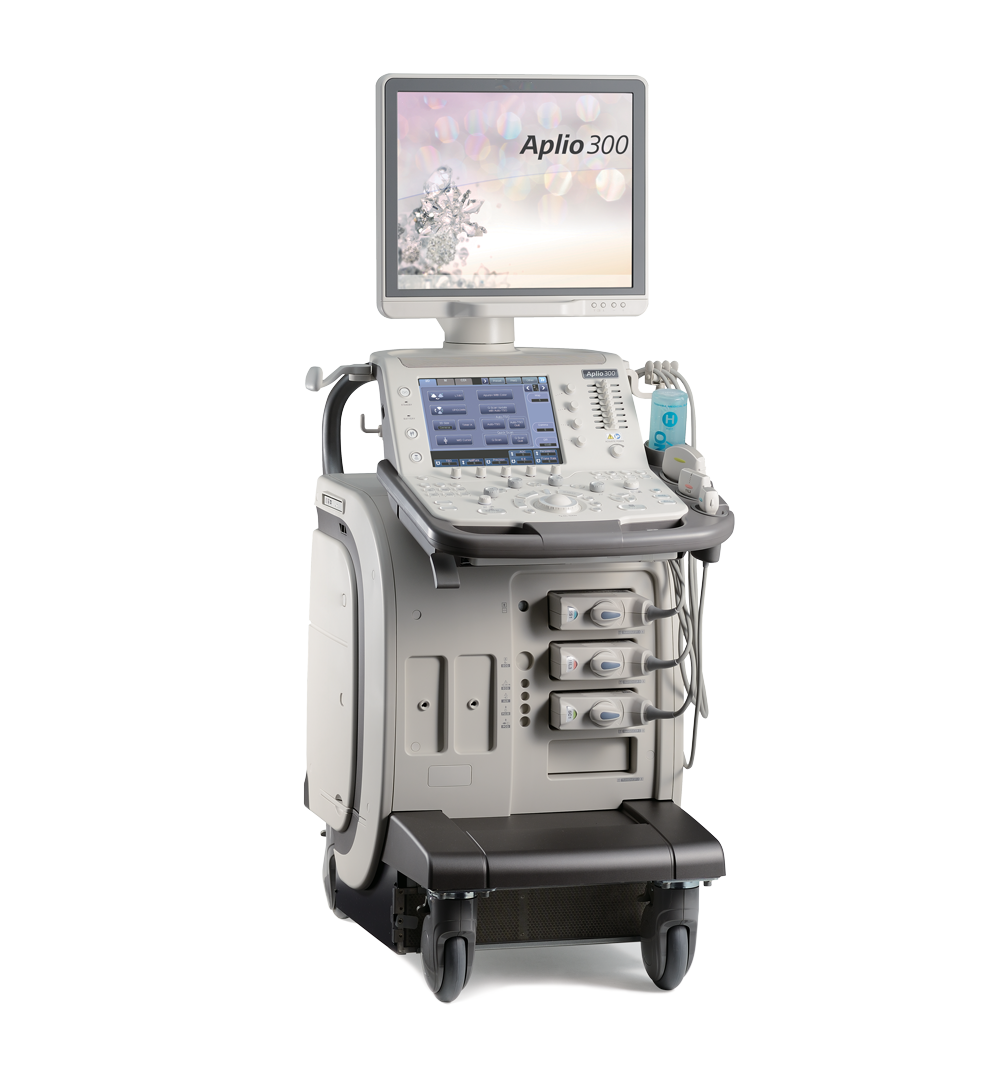 Canon Medical Systems Ultrasound Machine Aplio 300 Platinum