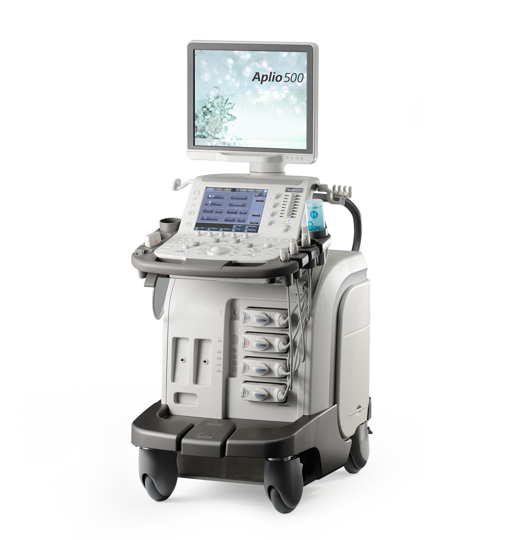 Canon Medical Systems Ultrasound Machine Aplio 500 Platinum