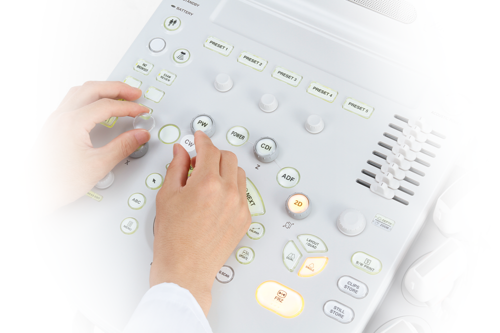 Xario 100 Ultrasound Operating Panel
