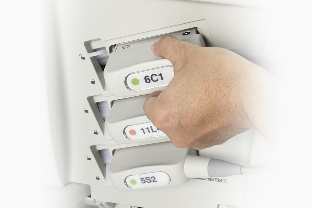 Xario Platinum Series Ultrasound Smart Cable Management