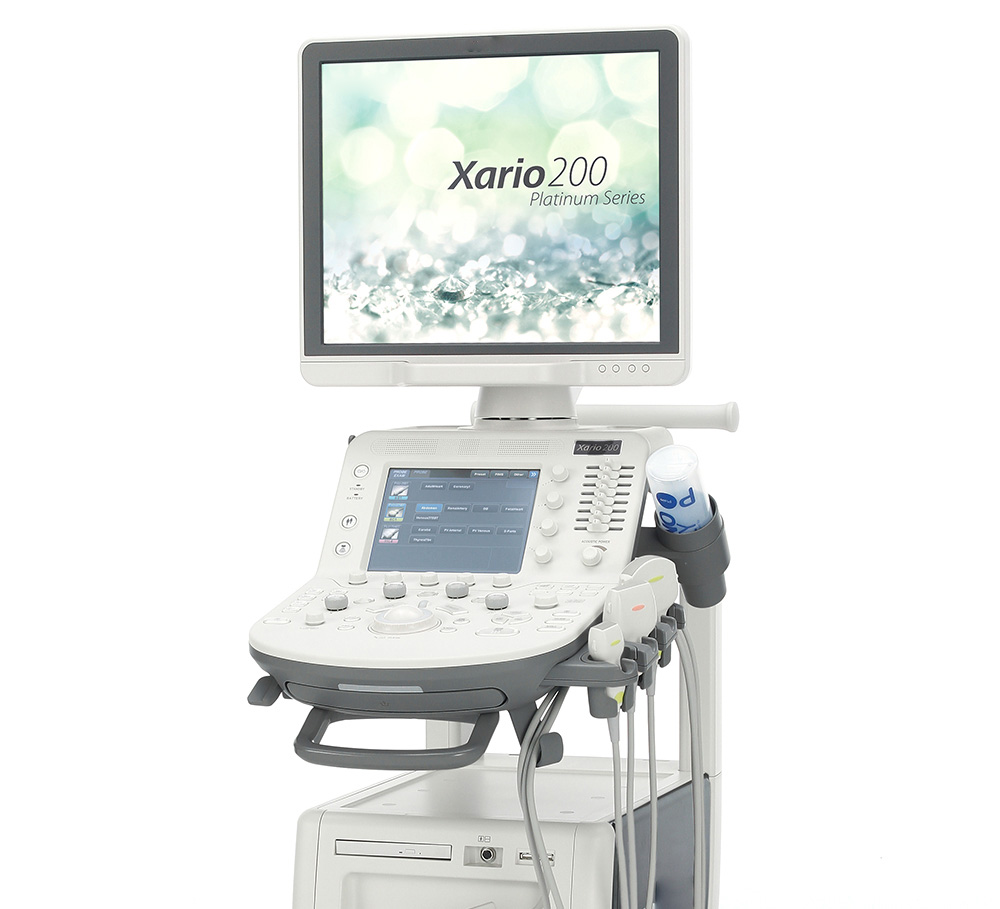 Xario 100 Ultrasound Machine