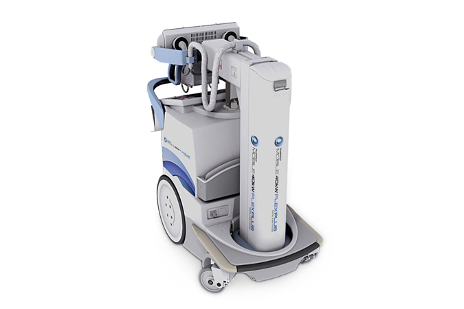 RadPRO Mobile 40kW FLEX PLUS Digital X-ray System
