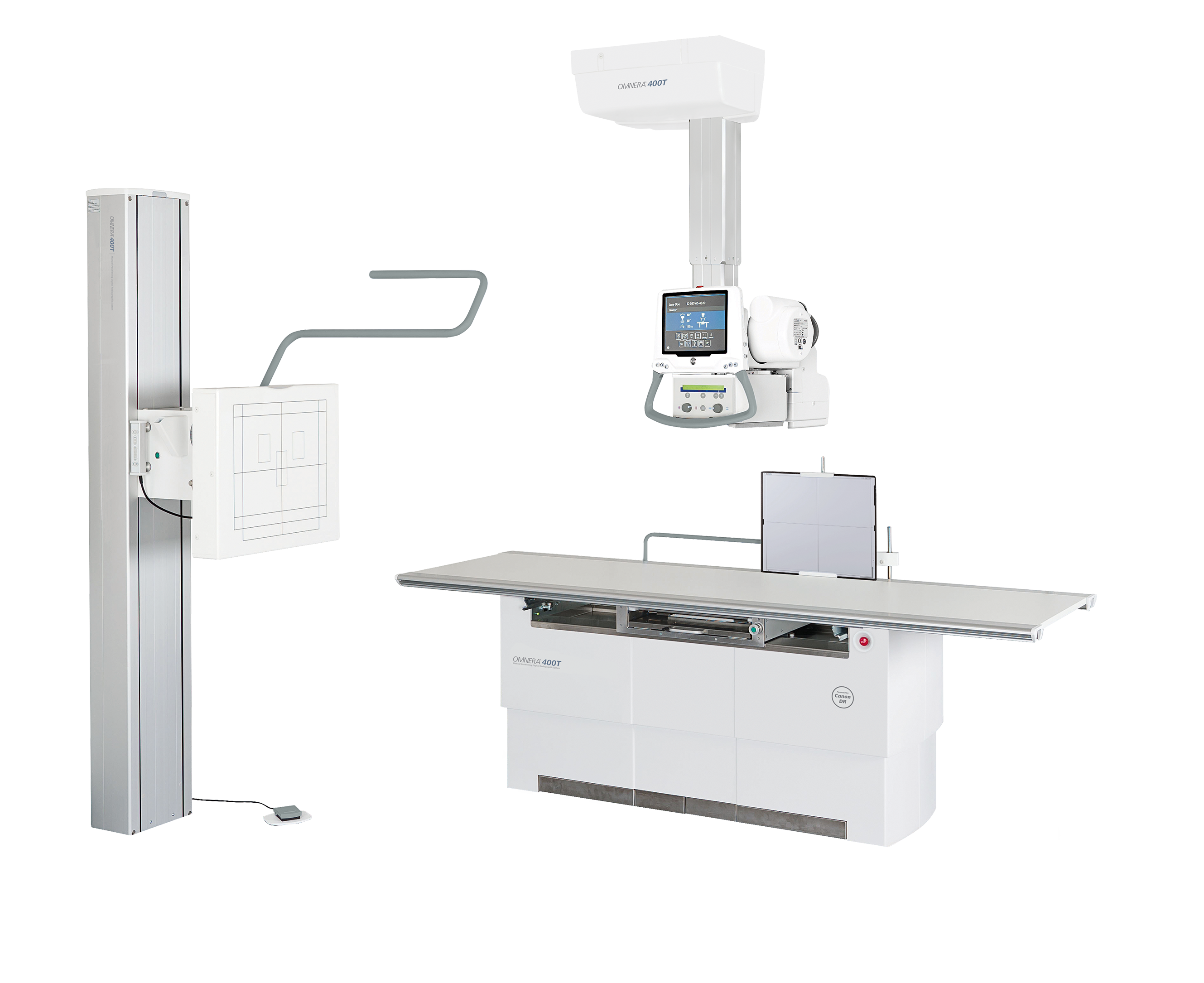 OMNERA 400T Digital Radiographic Systems