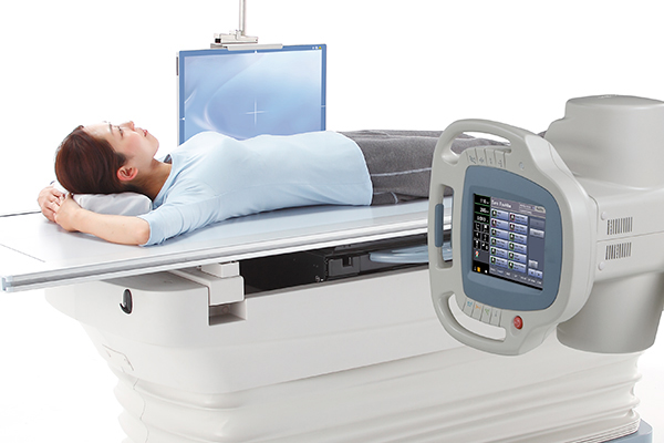 Gurney Examination with RexPanel Wireless Detector
