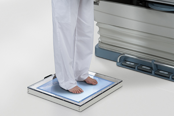 Standing Feet Examination with RexPanel Wireless Detector